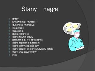 Stany nagle