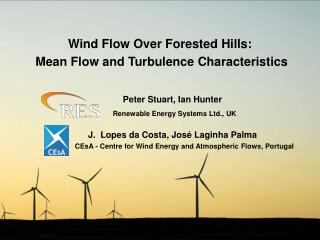 Wind Flow Over Forested Hills:  Mean Flow and Turbulence Characteristics