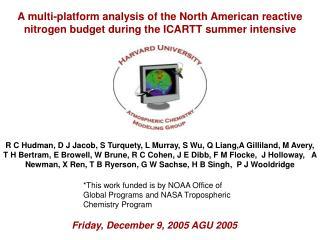 Friday, December 9, 2005 AGU 2005