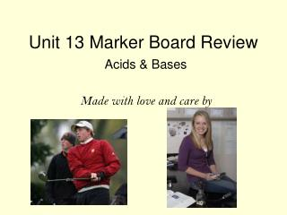 Unit 13 Marker Board Review