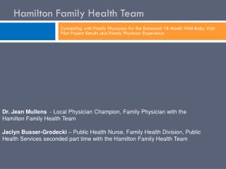Hamilton Family Health Team