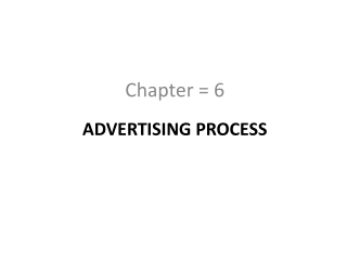 Advertising Effectiveness