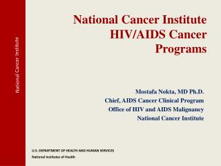 National Cancer Institute HIV/AIDS Cancer  Programs