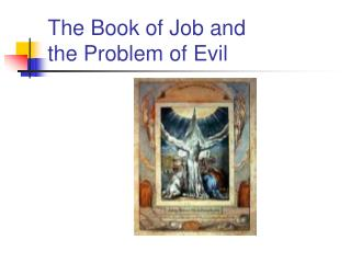 The Book of Job and  the Problem of Evil