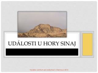 Události u hory Sinaj