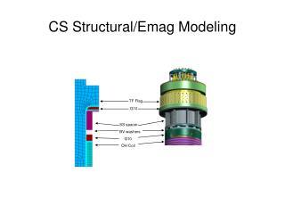 CS Structural/Emag Modeling
