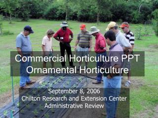 Commercial Horticulture PPT Ornamental Horticulture