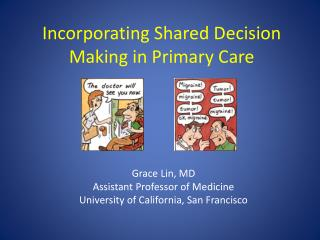 Incorporating Shared Decision Making in Primary Care