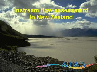 Instream flow assessment in New Zealand