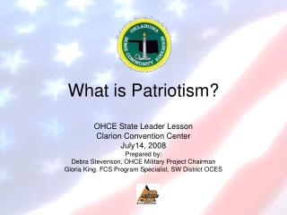 What is Patriotism?