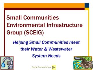 Small Communities Environmental Infrastructure Group (SCEIG)