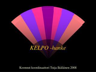 KELPO -hanke
