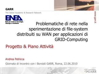 Progetto & Piano Attivit�