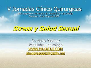 Stress y Salud Sexual
