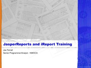 JasperReports and iReport Training