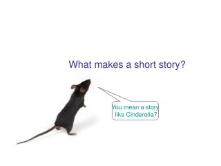 What makes a short story?