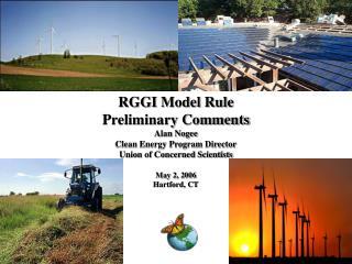 RGGI Model Rule Preliminary Comments