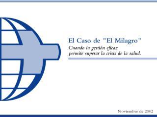 EL CASO DE