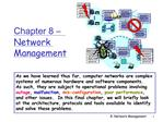 Chapter 8   Network Management