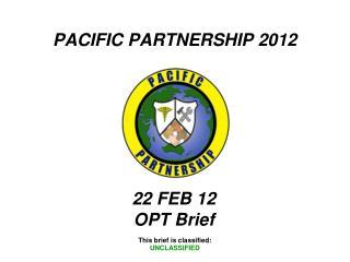 PACIFIC PARTNERSHIP 2012