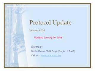 Protocol Update