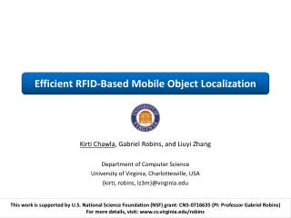 Efficient RFID-Based Mobile Object Localization