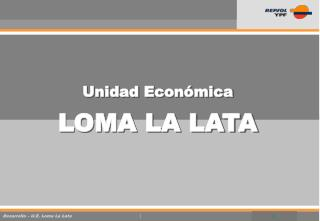 Unidad Econ mica  LOMA LA LATA