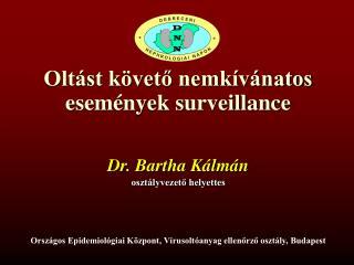 Oltást követő nemkívánatos események surveillance
