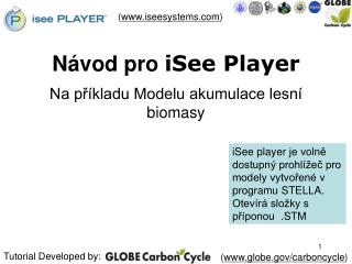 Návod pro  iSee Player