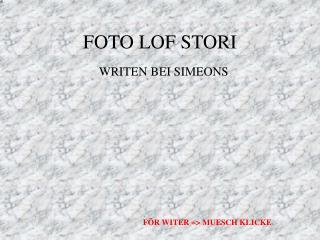 FOTO LOF STORI