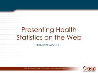 Presenting Health Statistics on the Web
