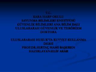 """EGE DENİZİ'NİN STRATEJİK KONUMU VE ÖNEMİ EGE'DE TÜRK HAKLARI """"CASUS BELLİ"""" MESELESİ"""