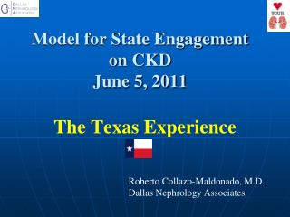 Model for State Engagement  on CKD June 5, 2011