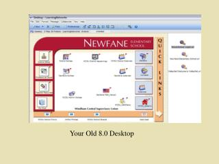 Your Old 8.0 Desktop