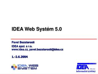 IDEA Web Syst�m 5.0