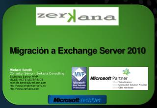 Migración  a Exchange Server 2010
