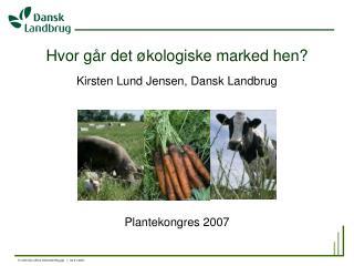 Hvor går det økologiske marked hen?