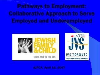 Pathways to Employment: Collaborative Approach to Serve Employed and Underemployed
