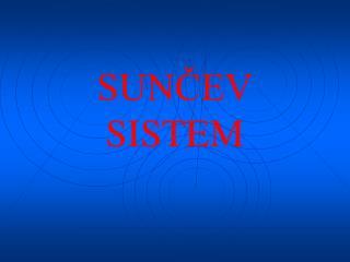 SUN?EV SISTEM