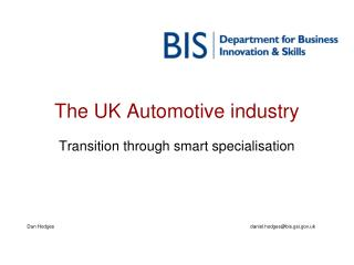 The UK Automotive industry