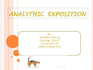 ANALYTHIC  EXPOSITION