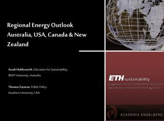 Regional Energy Outlook Australia, USA, Canada & New Zealand