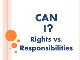 Rights vs. Responsibilities