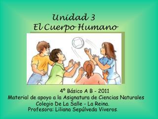 Unidad 3  El Cuerpo Humano