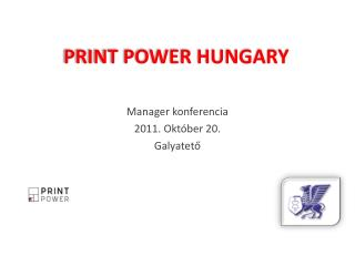 PRINT POWER HUNGARY