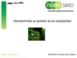 nanotechnológiai alkalmazások