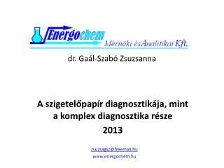 dr.  Gaál-Szabó  Zsuzsanna