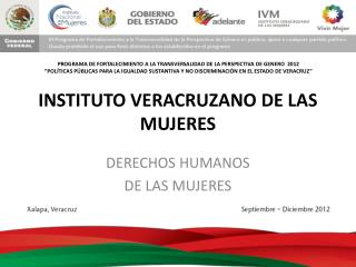 INSTITUTO VERACRUZANO DE LAS MUJERES