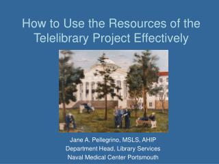 How to Use the Resources of the Telelibrary Project Effectively