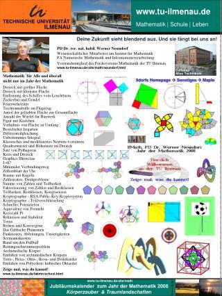 Mathematik  f�r Alle und �berall nicht nur im Jahr der Mathematik  Dreieck mit gr��ter Fl�che